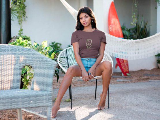 latin-woman-wearing-cali-avo-t-shirt-sitting-on-an-acapulco-chair-