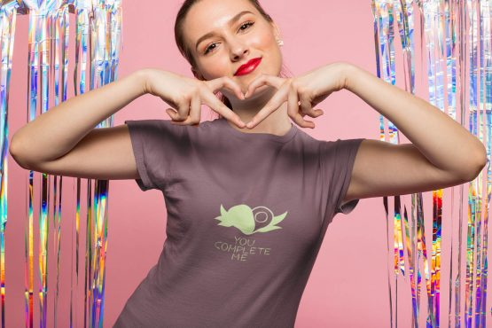 you-complete-me-t-shirt-worn-by-a-girl-making-a-heart-sign-with-her-hands-
